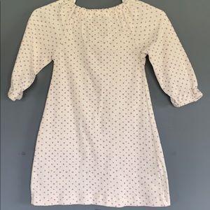 MilkBarn Organic Cotton Dress and Bloomer Set Rose Doe 3-6 Months